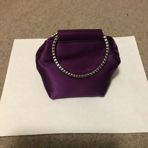 Small purple purse